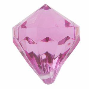 Décors de table Perle pampille diamant fuchsia (x6) REF/3852