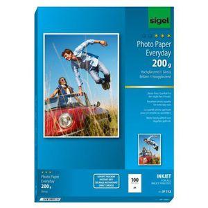 PAPIER PHOTO Sigel IP712 Paquet de 100 feuilles A4 de papier…