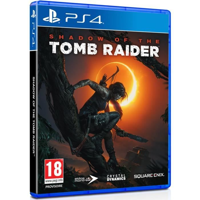 JEU PS4 Shadow of the Tomb Raider Jeu PS4