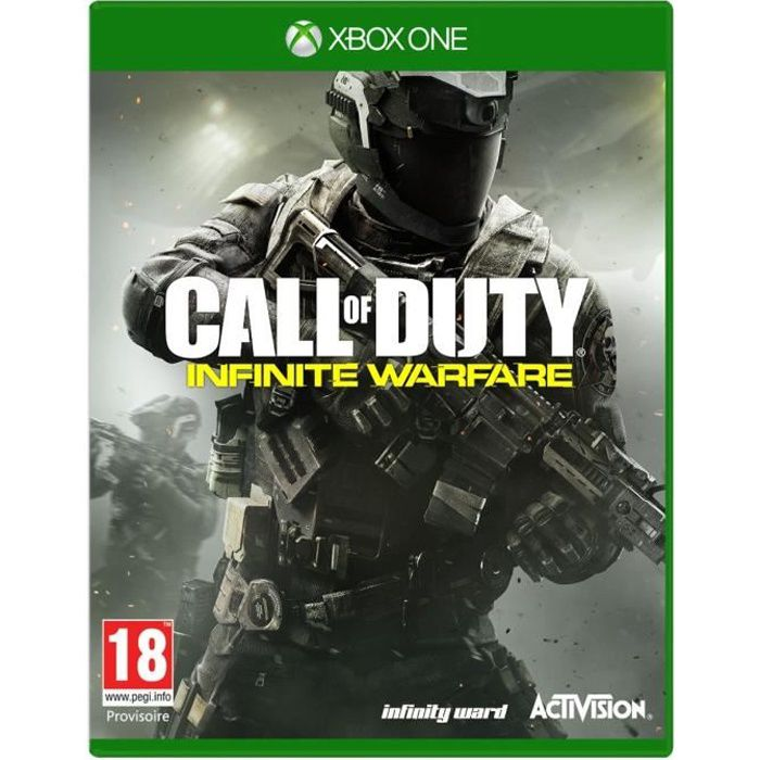call of duty infinite warfare jeu xbox one avis test cdiscount. Black Bedroom Furniture Sets. Home Design Ideas