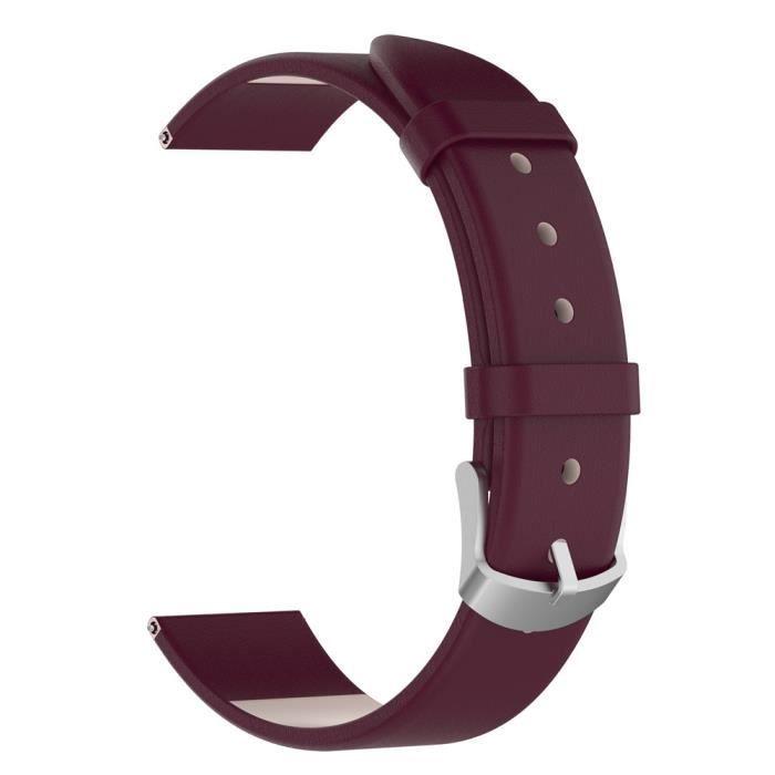bracelet de montre vendu seul Bracelet de montre en cuir bracelets bracelet pour Garmin vivoactive 3 ZHM80913004PP_wat