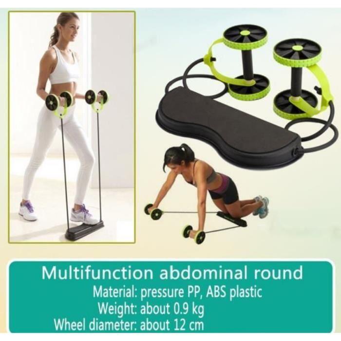 Abdominale Minceur Formateur Exerciseur Ab Rouleau Core Double Ab Roue Fitness Entraînement À Domicile