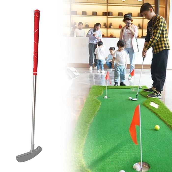 Putters de golf Anti-oxydation Antidérapant Accessoire Putter de golf amovible en deux parties pour lextérieur style-Red