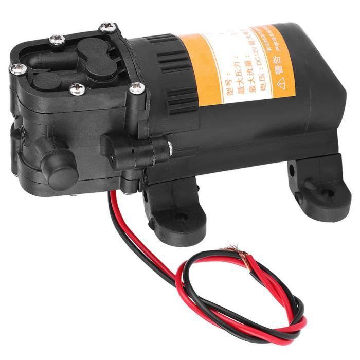 Mini pompe à eau à diaphragme, tête de décharge, 2V 0.48Mpa 3.5L / Min 0.48Mpa Valeur de pression Performance stable pour 3.5L /