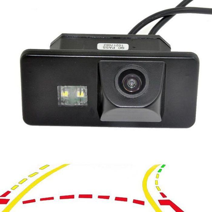 Caméra de recul pour voiture à pistes dynamiques et variables pour BMW Série 1/3/5/6 X6 X5 e39 E81 E87 E90 E91 E92 E60 E61 E70 E71