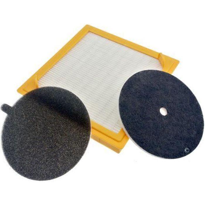 U27 kit filtres HEPA SENSORY pour Aspirateur HOOVER