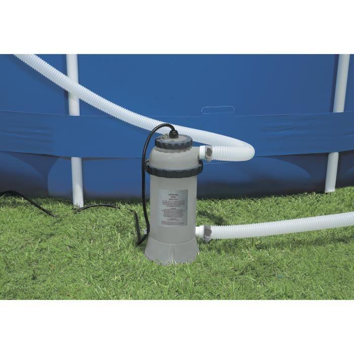 Pompe piscine chauffante