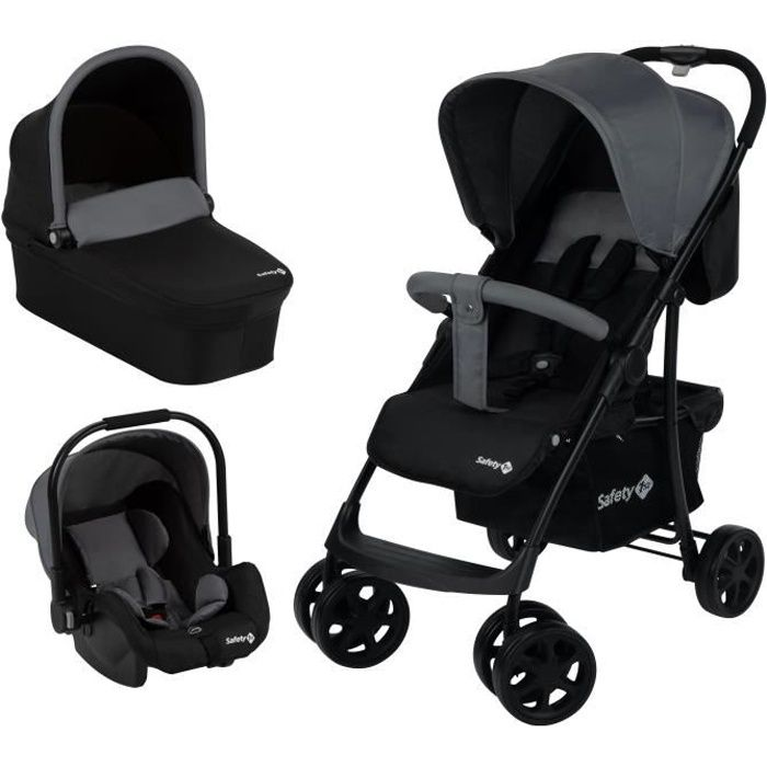 SAFETY FIRST Poussette Roadeo 3 In 1 Black Grey