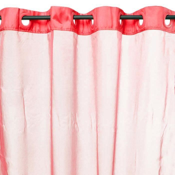 Rideau REFLETS (145x250cm) Rouge