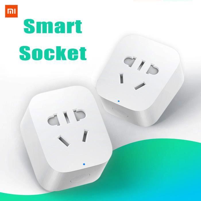 Xiaomi Mijia Zigbee Prise Intelligente Connectée par Smartphone Gateway APP