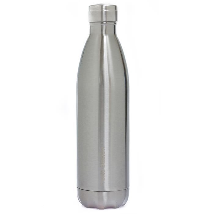 Bouteille isotherme XL 750 ml Silver