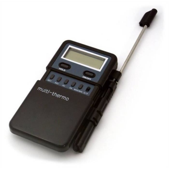 Thermomètre numérique capteur sonde idéal pour les aliments