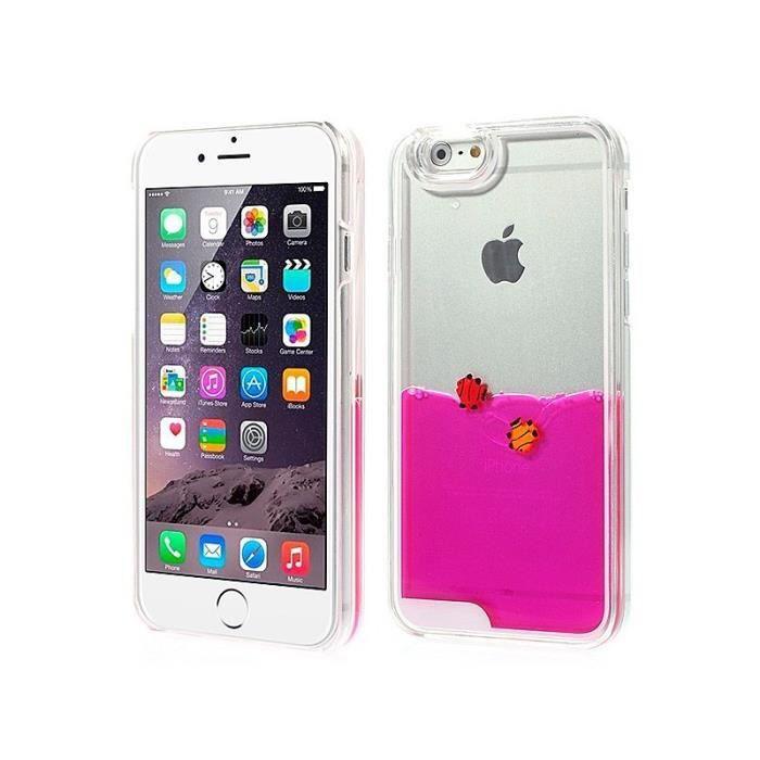 Coque Liquide avec Poisson Flottant pour iPhone 6 et 6S (4,7 ...
