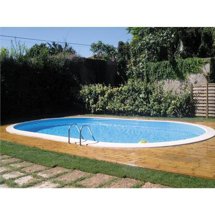 PISCINE GRE Star Pool Kit piscine enterrée ovale 5x3x1,50