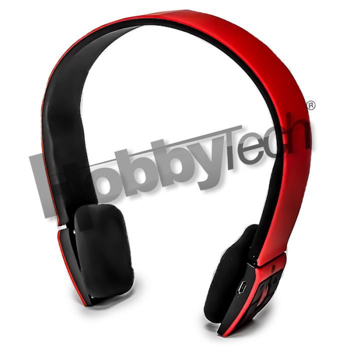 casque st r o bluetooth qualit hifi rouge casque couteur audio avis et prix pas cher. Black Bedroom Furniture Sets. Home Design Ideas