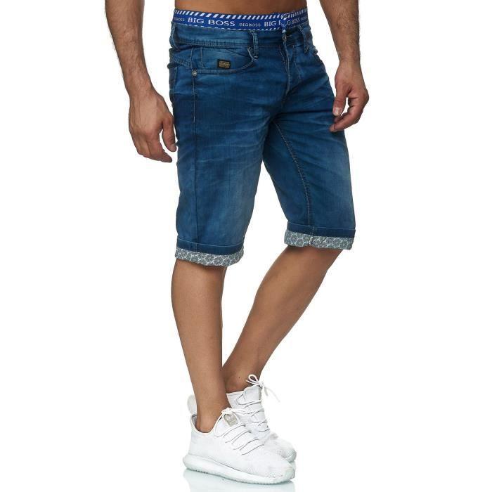 short jean homme