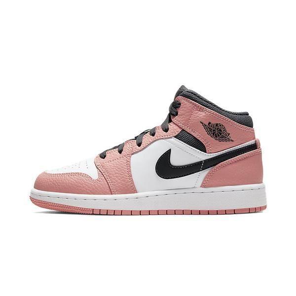 Baskets Air Jordan 1 Mid Pink Quartz Chaussures de Sport pour ...