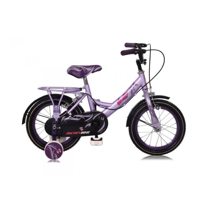 v lo fille mickey bike 12 14 pouces 14 39 39 prix pas cher cdiscount. Black Bedroom Furniture Sets. Home Design Ideas