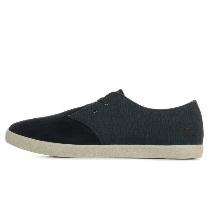 Baskets Fred Perry Byron Low Suede Bedford Navy