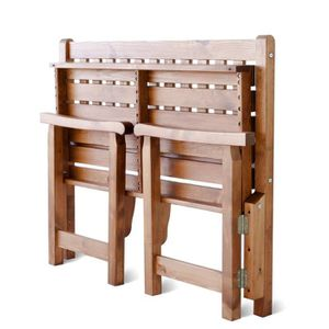 banc de jardin en bois massif achat vente pas cher. Black Bedroom Furniture Sets. Home Design Ideas