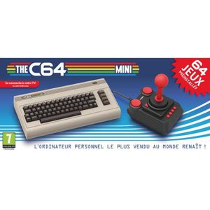 CONSOLE RÉTRO NOUV. Console The Commodore 64 - C64 mini + 64 jeux incl