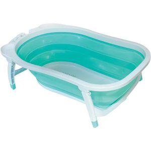 BAIGNOIRE  BABYSUN Baignoire Pliable - Vert d'eau