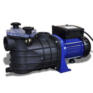 PISCINE Pompe électrique de piscine 500 W Bleu