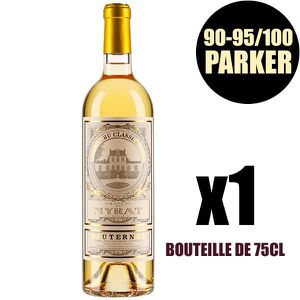 VIN BLANC X1 Château de Myrat 2012 75 cl AOC Sauternes 2ème