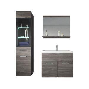 SALLE DE BAIN COMPLETE Meuble de salle de bain Rio LED 60 cm lavabo Bodeg
