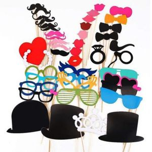 KIT DE DECORATION Mode Photo Booth Props Moustache sur un amusement