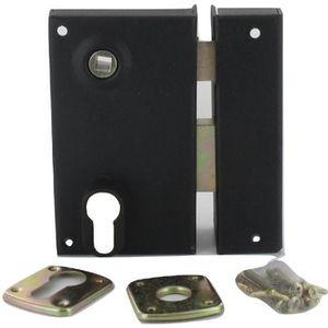 SERRURE - BARILLET Sûreté verticale fouillot de 7 mm de portail à tro