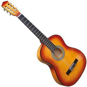 GUITARE Guitare Acoustique 4/4 Classique en Bois Marron po