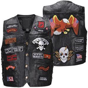 BLOUSON - VESTE Rétro moto gilet vêtements moto blouson veste vest