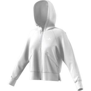 sweat blanc femme adidas