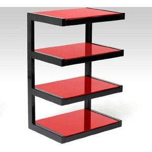 meuble tv verre achat vente pas cher cdiscount. Black Bedroom Furniture Sets. Home Design Ideas