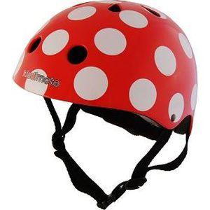 CASQUE MOTO SCOOTER Casque Helmets - Red Dotty Medium