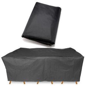 HOUSSE MEUBLE JARDIN  Etanche housse de meuble 308x138cm jardin protecti