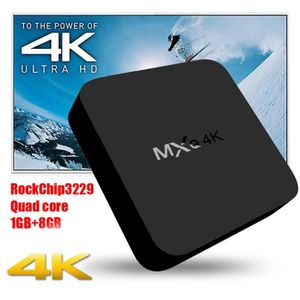 PACK ACCESSOIRES TV Box MXQ 4K Android 7.1 Quad-core Smart 1G + 8G