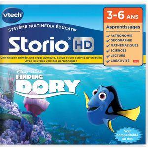 JEU CONSOLE ÉDUCATIVE VTECH - Jeu HD Storio - Le Monde de Dory