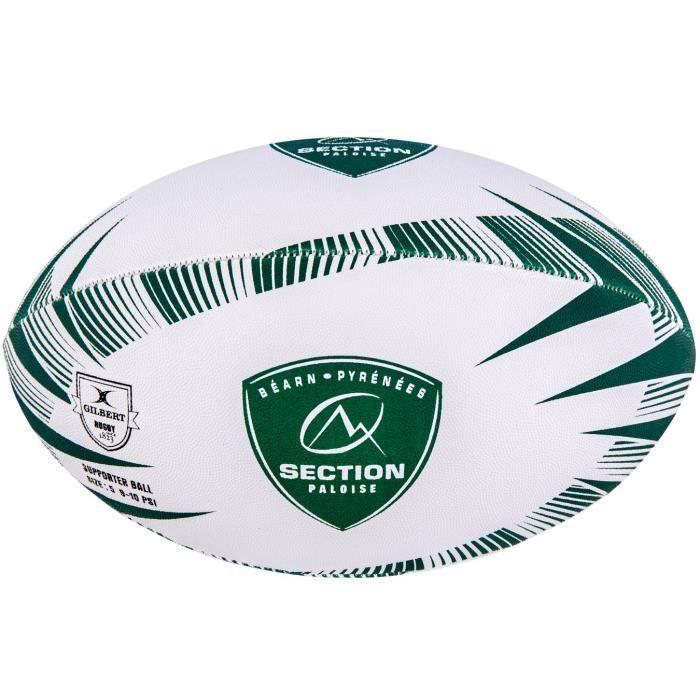 GILBERT Ballon de rugby SUPPORTER - Pau - Taille 5