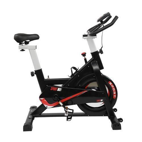 Vélo d'Appartement ,Support capitonné pour Bras, Selle Confortable, vélo d'intérieur ,105,5 * 56 * (97-109) cm,noir