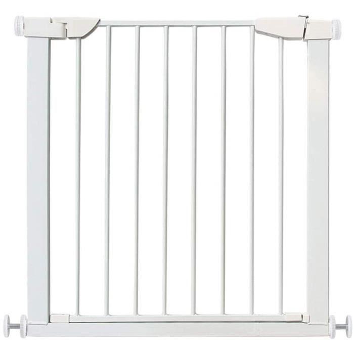 Barriere Securite Bebe Barre De Porte Rampe D'escalier Porte D'isolement Clôture for Animaux Fermeture Automatique Installation[706]