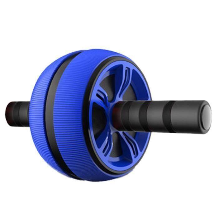 Grande Roue Abdominale Bleue Tpr Silencieuse Entraîneur À Rouleau Équipement de Fitness Rouleau Ab de Musculation D'Exercice An11801