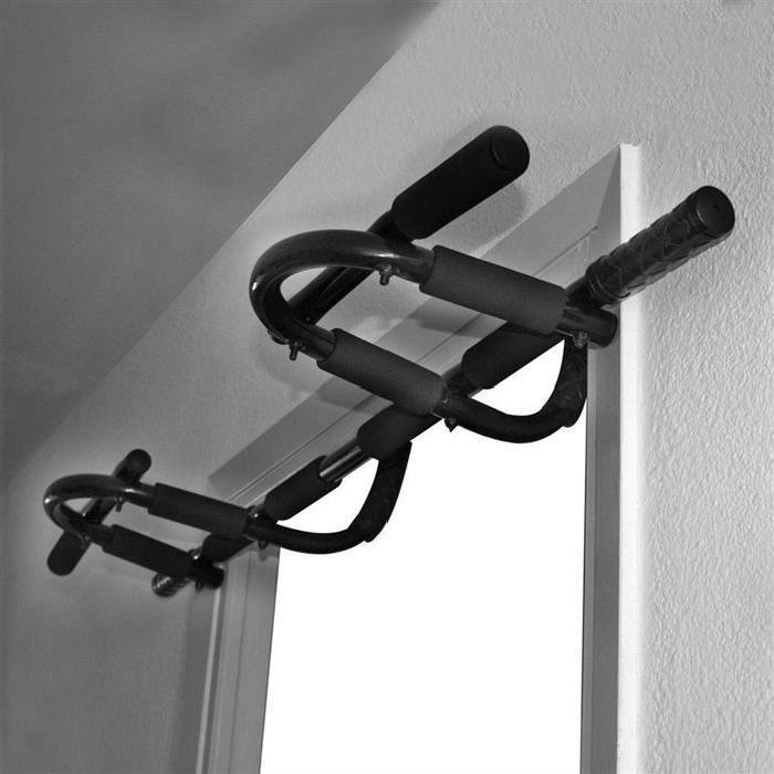 Barre de Traction Casnely Gym Fitness Barre de Porte Musculation Exercise 51*20*8.5cm
