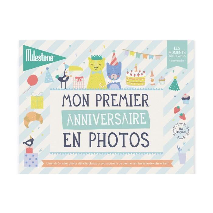 Livret de cartes photos -Mon premier anniversaire-
