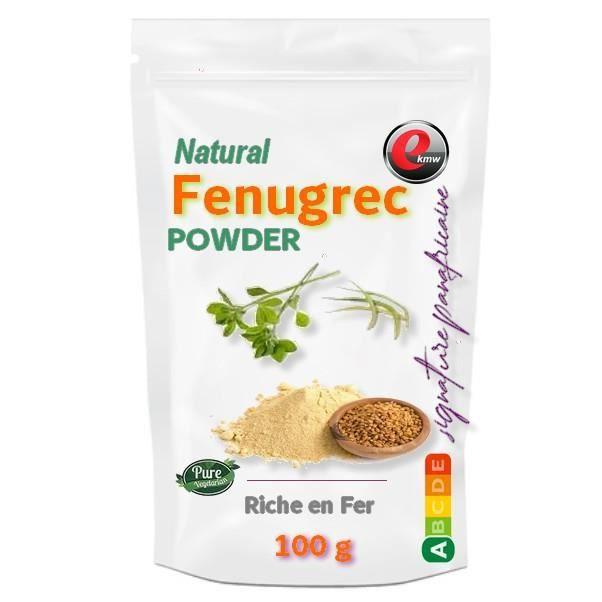 Poudre de Fenugrec Qualité supérieure -100g