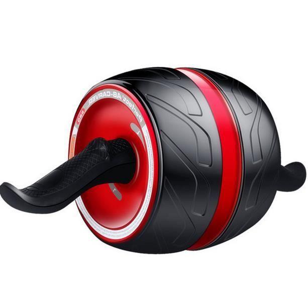 Roue Abdominale AB Wheel Roller Pro de Fitness et Musculation-Rouleaux d'Entraînement Roues Gommées