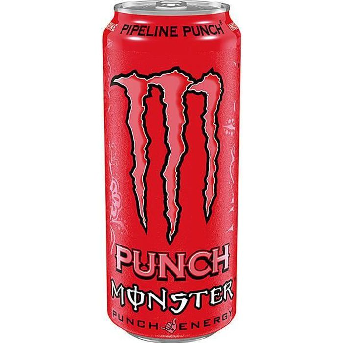 Monster Energy Drink Pipeline Punch 0,5l (Pack de 12)