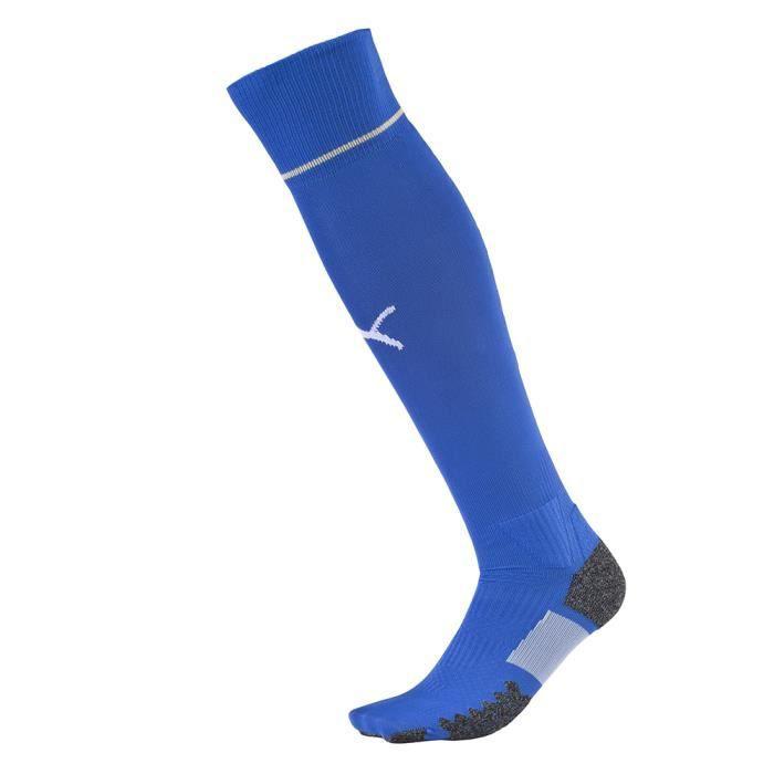 PUMA Chaussettes de Football homme Italie Domicile - Bleu