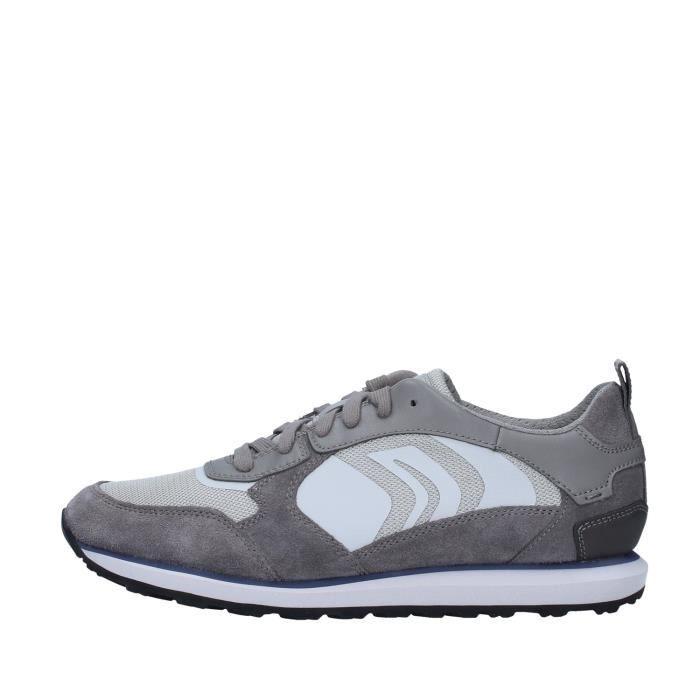 Geox U029WD02214 chaussures de tennis faible homme GRIS